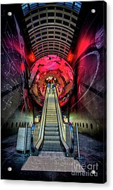 Red Planet Acrylic Print by Adrian Evans