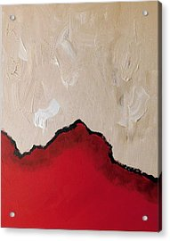 Red Planet Acrylic Print by Susan Wooler