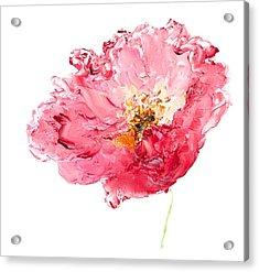Red Poppy Painting Acrylic Print