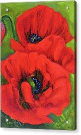 Red Poppy Acrylic Print