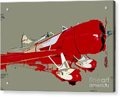 Red Racer Acrylic Print by David Lee Thompson