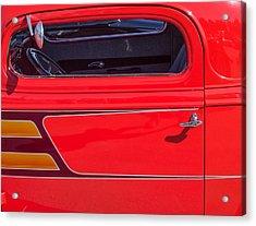 Red Racer Acrylic Print