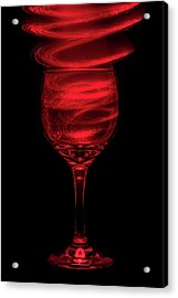 Red Red Wine Acrylic Print by Marnie Patchett