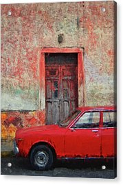 Red Rider Acrylic Print