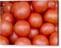 Red Ripe Tomatoes Acrylic Print by John Trax
