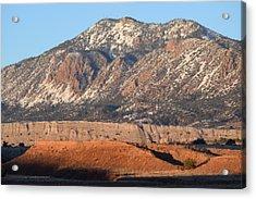 Red Rock Along 550 Acrylic Print