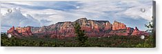 Red Rock And Blue Skies Acrylic Print