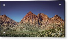 Red Rock Canyon #20 Acrylic Print