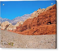 Red Rock Canyon Acrylic Print by Rae Tucker