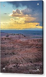 Red Rock Pinnacles Acrylic Print