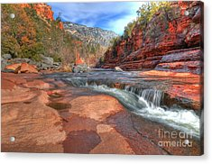 Red Rock Sedona Acrylic Print by Kelly Wade
