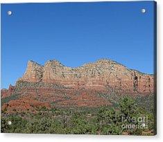 Red Rocks Majesty Acrylic Print