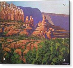 Red Rocks Sedona Acrylic Print