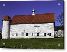 Red Roof Barn Vermont Acrylic Print