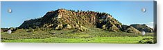 Red Roof Butte Acrylic Print by Todd Klassy