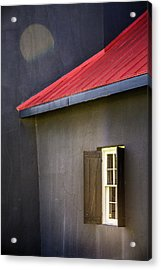 Red Roof Acrylic Print