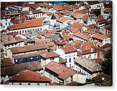 Acrylic Print featuring the photograph Red Roof by Jason Smith
