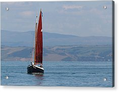 Red Sail Acrylic Print
