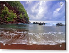 Red Sand Acrylic Print