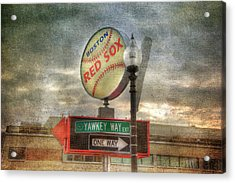 Red Sox Art - Boston Acrylic Print