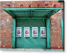 Red Sox Ticket Counter Acrylic Print