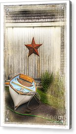 Red Star Boat Acrylic Print