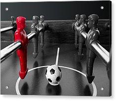Red Striker Acrylic Print