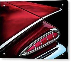 Red Tail Impala Vintage '59 Acrylic Print