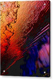 Red Tide Acrylic Print by Randall Weidner