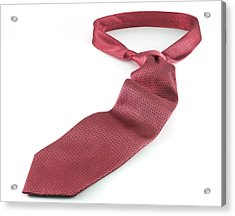 Red Tie Acrylic Print by Blink Images