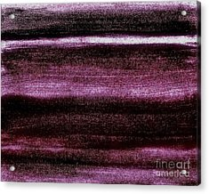 Red To Black Acrylic Print by Marsha Heiken