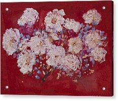 Red Trilium  Acrylic Print by Don  Wright