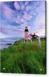 Red, White And Blue - Vertical Acrylic Print
