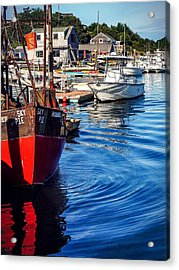 Acrylic Print featuring the photograph Red White Blue by Kendall McKernon