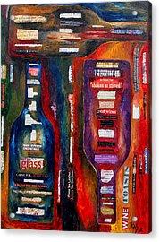 Red White Whatever Acrylic Print by Patti Schermerhorn