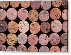 Red Wine Corks 135 Acrylic Print by Frank Tschakert