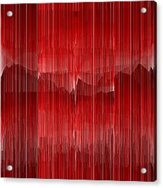 Red.22 Acrylic Print by Gareth Lewis