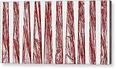 Red.325 Acrylic Print by Gareth Lewis