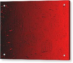 Red.426 Acrylic Print by Gareth Lewis