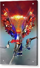 Redbull Gives You Wings Acrylic Print