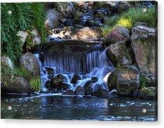 Redhawk Waterfall 10 Acrylic Print
