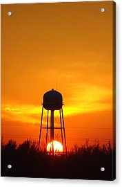 Redneck Water Heater For Whole Town Acrylic Print