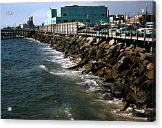 Redondo Beach 1957 Acrylic Print by Marilyn Hunt