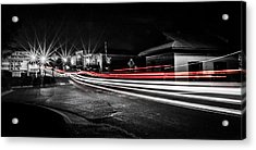 Reds In Downtown Helena Acrylic Print by Parker Cunningham