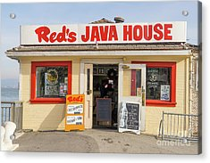 Reds Java House At San Francisco Embarcadero Dsc5759 Acrylic Print