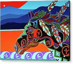 Redsky 01 Acrylic Print