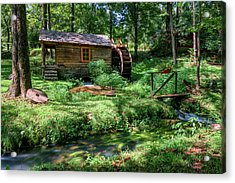 Acrylic Print featuring the photograph Reed's Mill by John Gilbert
