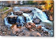 Reedy River Falls Acrylic Print