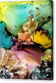 Reef 3 Acrylic Print by Susan Kubes