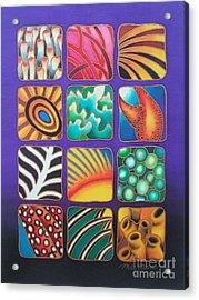 Reef Designs Ix Acrylic Print